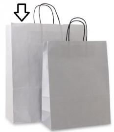 Basic papieren zilver (Medium Large) Doos van 250 stuks