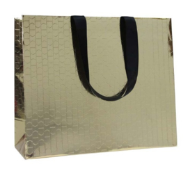 Beauty paper bag Goud (100 stuks)