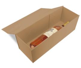 Luxe magneetdoos Kraft bruin (Wine) Doos 10 stuks