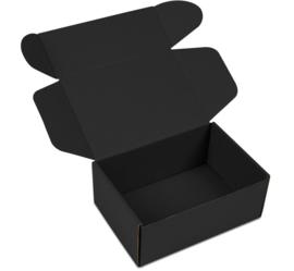 LUXE VERZENDDOOS (M) Zwart (doos 50 st)