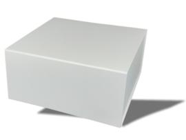Luxe magneetdoos Matt Wit(Square)