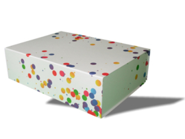Magneetdoos Confetti Medium