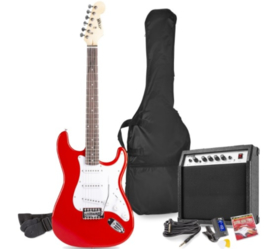 GIGKIT ELECTRIC GUITAR PACK RED