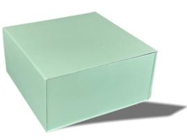 Luxe magneetdoos Mintgroen (Square)