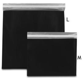 Plastic verzendzak zwart (M) doos 250 st