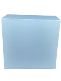 Luxe magneetdoos Lichtblauw (Square) bundel 10 stuks