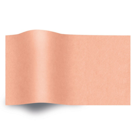 VLOEIPAPIER - PEACH 50 x 75 cm (480 st)
