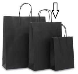 Basic papieren zwart (Medium) Doos van 250 stuks