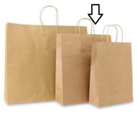 Basic papieren bruin (Medium) Doos van 250 stuks