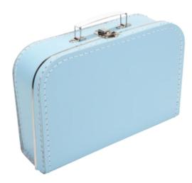 Koffertje 30 cm licht Blauw
