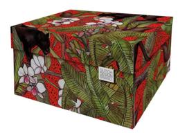 Storage Box Red Panther Dutch Design Brand