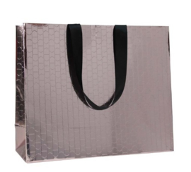 Beauty paper bag Brons (100 stuks)