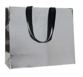 Beauty paper bag Zilver (100 stuks)