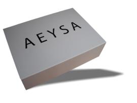 Magneetdoos AEYSA 35x25x10 cm