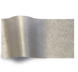 VLOEIPAPIER - PEARLESENCE SILVER 50 x 75 cm (240 st)