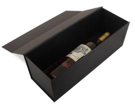 Luxe magneetdoos Zwart kraft (Wine) Doos 10 stuks