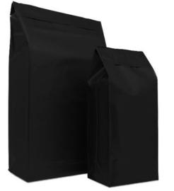 Plastic pakket verzendzak zwart (M) Doos 125 stuks