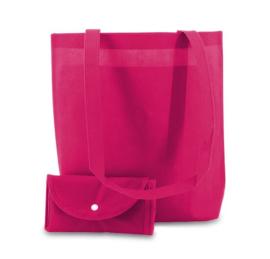 Shop in bag fuchsia doos 100 stuks