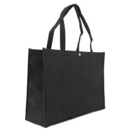 Shopper zwart (klein) doos 100 stuks