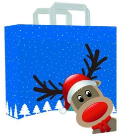 Papieren tas (ML) Christmas friends  (doos 250 st)