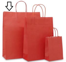 Basic papieren rood (Medium Large) Doos van 250 stuks