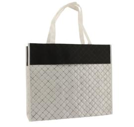 Luxe shopper wit diamond (groot) doos 50 stuks