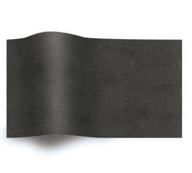VLOEIPAPIER - BLACK 50 x 75 cm (480 st)