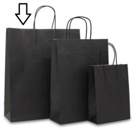 Basic papieren zwart (Medium Large) Doos van 250 stuks