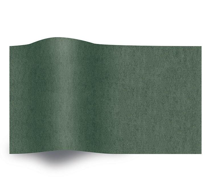 VLOEIPAPIER - BOTTLE GREEN 50 x 75 cm (480 st)