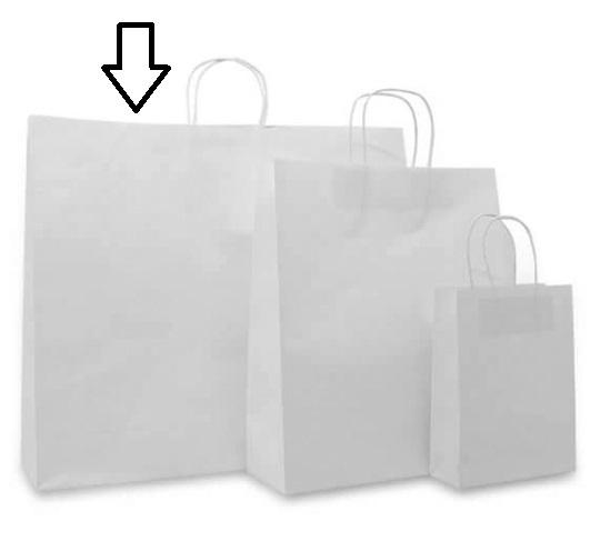 Basic papieren wit (Large) Doos van 100 stuks