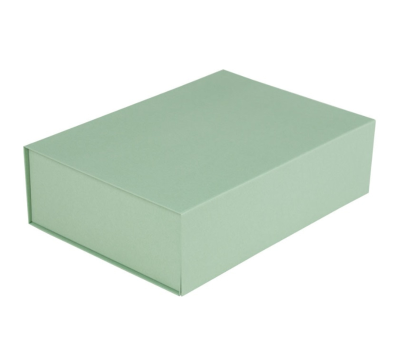 Luxe magneetdoos Mintgroen (Medium) bundel 10 stuks