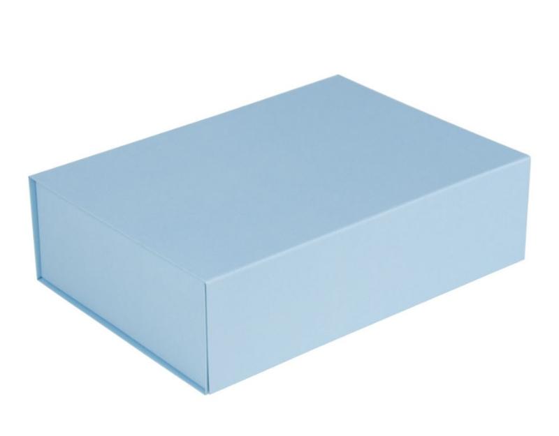 Luxe magneetdoos Lichtblauw (Medium) bundel 10 stuks