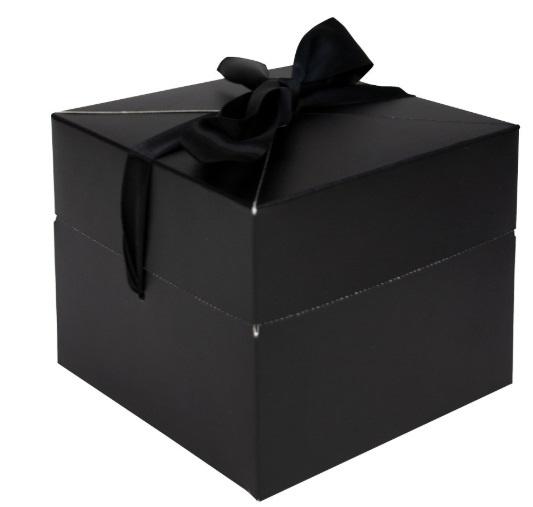 POP UP BOX - ZWART