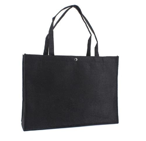 Shopper zwart (groot) per stuk