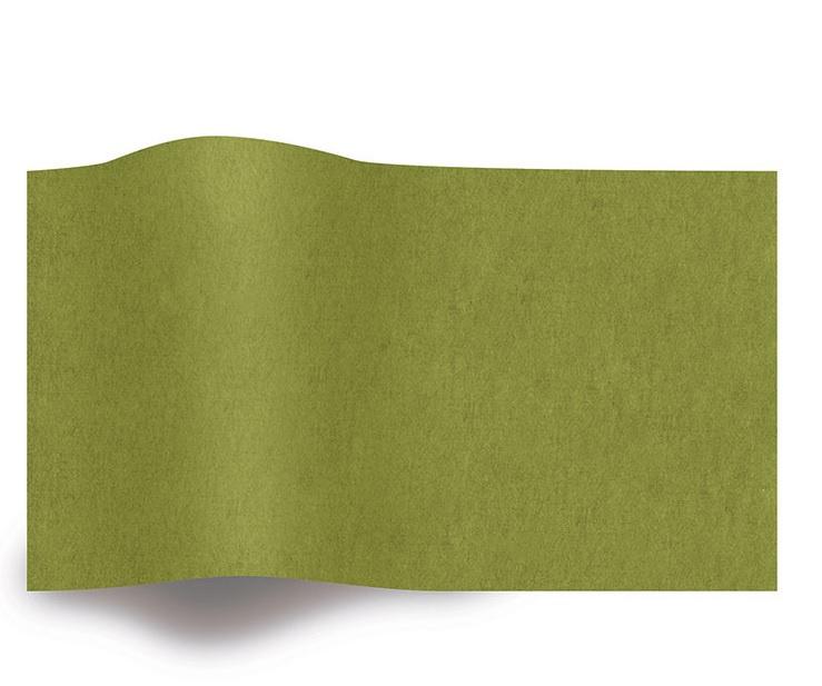 VLOEIPAPIER - MOSS GREEN 50 x 75 cm (480 st)