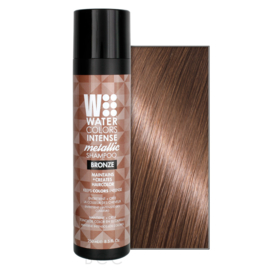 Watercolors Intense Metallic Shampoo - Bronze - 250 ml