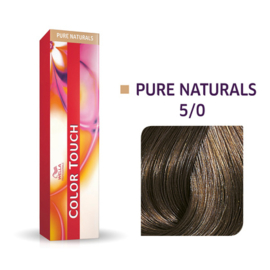 Wella Color Touch - Pure Naturals -  5/0  - 60 ml