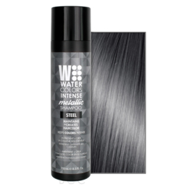 Watercolors Intense Metallic Shampoo - Steel - 250 ml