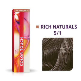 Wella Color Touch - Rich Naturals -  5/1  - 60 ml