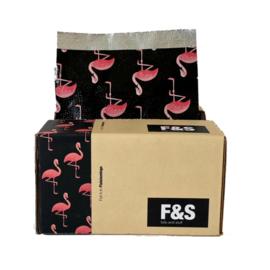 Foils and Stuff Voorgevouwen Folies - 12,5 x 27,9 cm - Flalalamingo Down - 500 vel