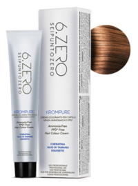 6.Zero Krompure - 8.43 Light Golden Copper Blonde - 100 ml