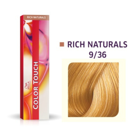 Wella Color Touch - Rich Naturals -  9/36  - 60 ml