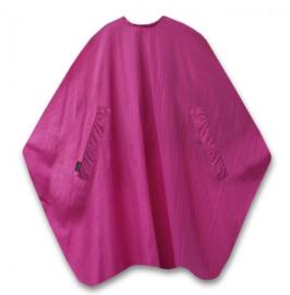 Trend-Design Classic Knipmantel met drukknopen - Purper Pink