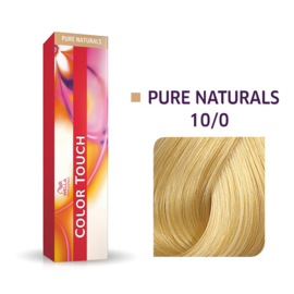 Wella Color Touch - Pure Naturals -  10/0  - 60 ml