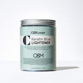 O&M Keratin Blue Lightener - 500 gr
