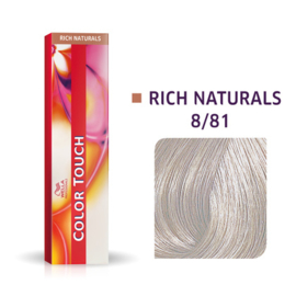 Wella Color Touch - Rich Naturals -  8/81 - 60 ml