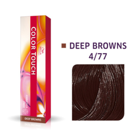 Wella Color Touch - Deep Browns -  4/77  - 60 ml