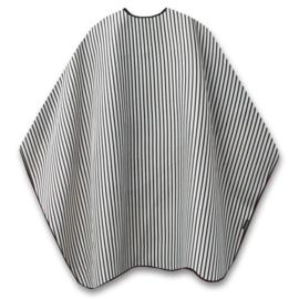 Trend-Design Barber Cape Knipmantel met drukknopen