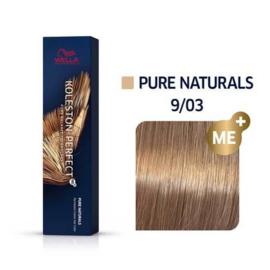 Wella Koleston Perfect ME+ - Pure Naturals - 9/03 - 60 ml