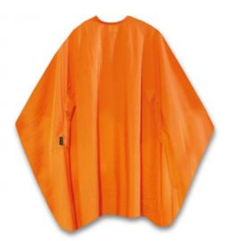 Trend-Design Classic Knipmantel met drukknopen - Oranje